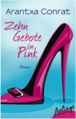Buchbeschreibung, Zehn Gebote in Pink